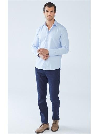 Boris Becker Oxford Gömlek Mavi